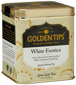 Golden Tips White Exotica Tea - Tin Can, 25g