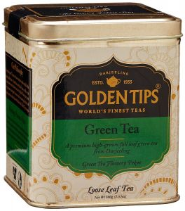 Golden Tips Green Tea - Tin Can, 100g