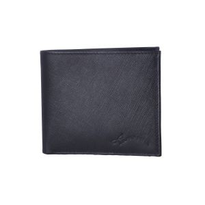 Tamanna Men Black Genuine Leather Wallet (5 Card Slots)