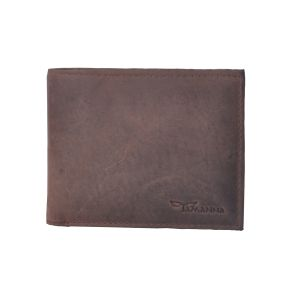 Tamanna Men Tan Genuine Leather Wallet (7 Card Slots)