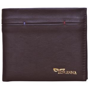 Tamanna Men Brown Genuine Leather Wallet Lwm00075