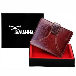 Tamanna Men Brown Genuine Leather Wallet (7 Card Slots) (code - Lwm00159-tm)