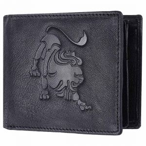 Tamanna Men Black Genuine Leather Wallet (1 Card Slot)