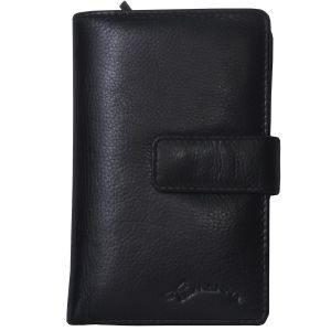 Tamanna Women Black Genuine Leather Wallet Lww00024