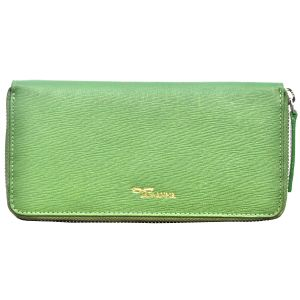 Tamanna Women Green Genuine Leather Wallet Lww00049