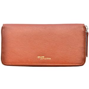 Tamanna Women Tan Genuine Leather Wallet Lww00051