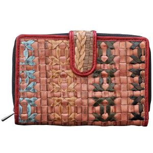 Tamanna Women Multicolor Leather Wallet Lww00144