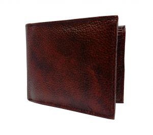 Notorious Cherry Brown Textured Premium Mens Genuine Leather Wallet By Getsetstyle Gbglw-chbr-7056