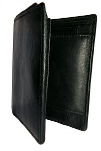 Getsetstyle Men Marvelous Black Genuine Leather Wallet Glw-bk-7016