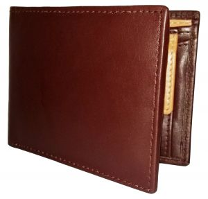 Getsetstyle Men Dark Brown 100% Genuine Leather Wallet Ltw-gbr-7022