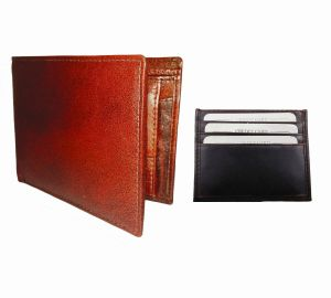 Light & Dark Brown Combination Of 100% Genuine Leather Mens Wallet & Card Holder Ltw-mbr-7020c