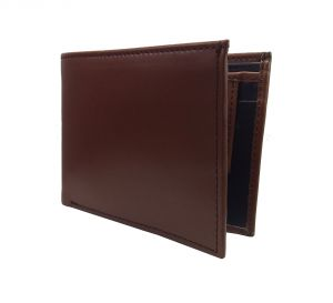 Umber Brown-black Stylish Premium Quality Pu Leather Wallet By Getsetstyle Ppu-brbl-7036