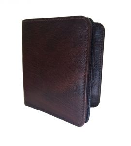 Brown Buffalo Premium Mens Class Genuine Leather Wallet By Getsetstyle Prlw-bfbr-7048