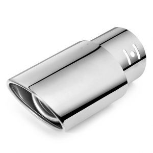 Autoright Car Exhaust Tube In Tube Silencer Muffler Tip For Maruti Suzuki Wagonr