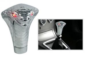 Autoright Snake Glow Eyes Gear Knob/ Gear Shift Knob For Maruti Suzuki Wagonr Stingray