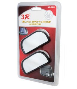 Autoright 3r Rectangle Car Blind Spot Side Rear View Mirror For Tata Nano