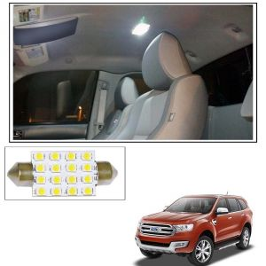 Autoright 16 Smd LED Roof Light White Dome Light For Ford Endeavour New