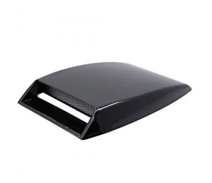 Autoright Car Turbo Style Air Intake Bonnet Scoop Black For Fiat Linea
