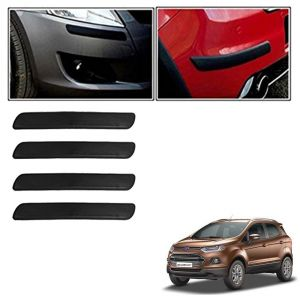 Autoright Car Bumper Safety Guard Protector Black For Ford Ecosport