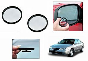 Autoright 3r Round Flexible Car Blind Spot Rear Side Mirror Set Of 2-honda Accord