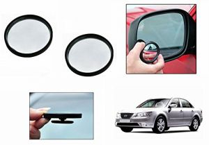 Autoright 3r Round Flexible Car Blind Spot Rear Side Mirror Set Of 2-hyundai Sonata Embera