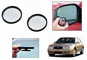 Autoright 3r Round Flexible Car Blind Spot Rear Side Mirror Set Of 2-hyundai Sonata Gold