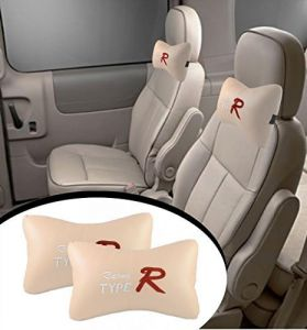 Autoright- Type R - Car Seat Neck Cushion Pillow - Beige