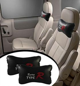 Autoright- Type R - Car Seat Neck Cushion Pillow - Black