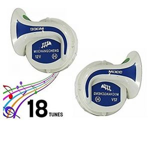 Autoright Mocc Bike 18 In 1 Digital Tone Magic Horn Set Of 2 For Yamaha R15
