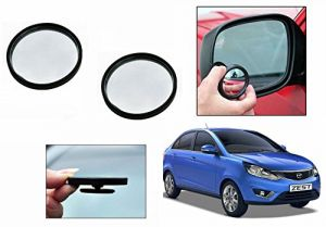 Autoright 3r Round Flexible Car Blind Spot Rear Side Mirror Set Of 2-tata Zest