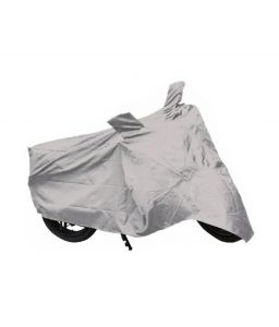Autoright Hero Splendor Pro Two Wheeler Cover (silver)