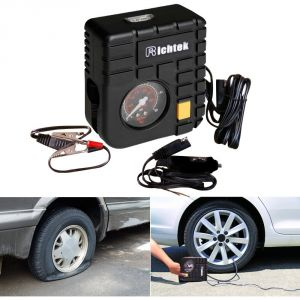 Autoright Richtek Mini Compact Car Tyre Inflator Air Compressor For Chevrolet Aveo