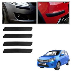 Autoright Car Bumper Safety Guard Protector Black For Maruti Suzuki Celerio