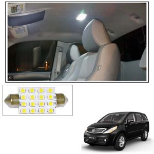 Automobile Accessories - AutoRight 16 SMD LED Roof Light White Dome Light for tata Aria