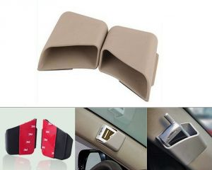 Autoright Car Pillar Storage Pockets Set Of 2 Beige For Ford Ecosport