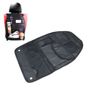 Autoright Car Back Seats Multi-pocket Hanging Organiser Black For Maruti Suzuki Ciaz
