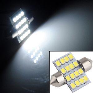 Car Lamps, Horns - Autosun-car Auto Dome Roof Light 16 Smd 31mm Festoon Connector