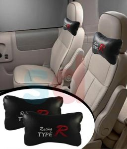 Autosun- Type R - Car Seat Neck Cushion Pillow - Black