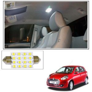 Car Electronics - AutoRight 16 SMD LED Roof Light White Dome Light for Renault Pulse