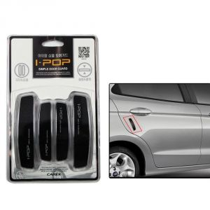 Autoright-ipop Car Door Guard Set Of 4 PCs Black Formercedes Benz C-class