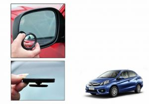 Autoright 3r Round Flexible Car Blind Spot Rear Side Mirror Set Of 2-honda Amaze New