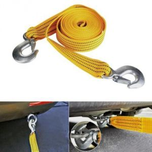 Car Auto Towing Tow Cable Rope Heavy Duty Up To 5 Ton Capacity