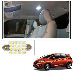 Automobile Accessories - AutoRight 16 SMD LED Roof Light White Dome Light for Honda Jazz New