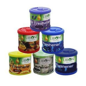 Car Perfume - Liboni Gel Perfume - Set Of 6
