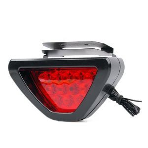 Autoright Red 12 LED Brake Light With Flasher For Volkswagen Vento