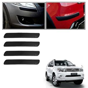 Autoright Car Bumper Safety Guard Protector Black For Toyota Fortuner