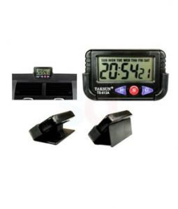 Autoright - Taksun Car Dashboard / Office Desk Alarm Clock And Stopwatch With