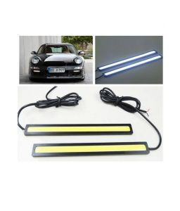 Autoright Cob LED Smd Fog Drl Daytime Running Waterproof Light For Ford Figo Aspire