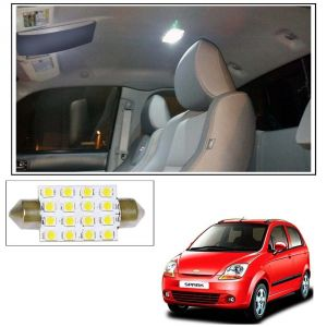 Car Electronics - AutoRight 16 SMD LED Roof Light White Dome Light for Chevrolet Spark