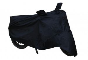 Autoright Honda Cb Shine Two Wheeler Cover (black)
